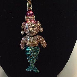 NWT Authentic Betsey Johnson mermaid bear.
